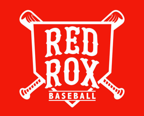 Red Rox Baseball Logo